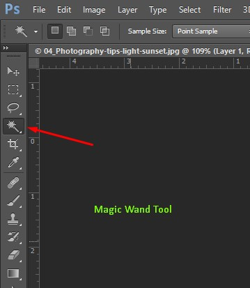 Magic wand tool in Photoshop- clipping path eu