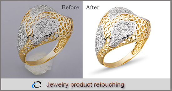 Jewelry Product retouching